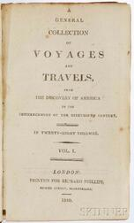 Decorative Bindings, Sets, Travels and Voyages, Twenty-eight Volumes.