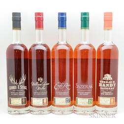 Buffalo Trace Antique Collection 2016 Horizontal, 5 750ml bottles