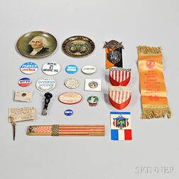 Collection of Political Items