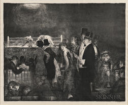 George Bellows (American, 1882-1925)      Preliminaries