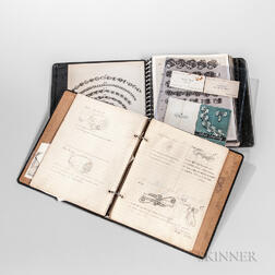 Two Walter Meyer for Georg Jensen Inc. Reference Notebooks