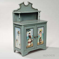 Small Paint-decorated Cabinet