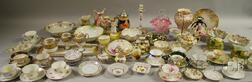Large Assortment of Decorated Pottery and Porcelain