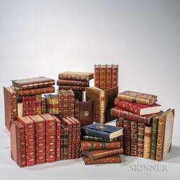 Decorative Bindings, Sets and Single Volumes, Approximately Forty-eight Volumes.