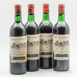 Chateau dAngludet 1979, 4 bottles