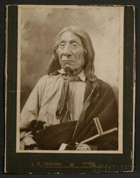 Photograph of Red Cloud at 83 Years Old