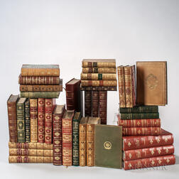 Decorative Bindings and Sets, Approximately Thirty-seven Volumes.