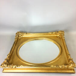 Carved Gilt-gesso Mirror