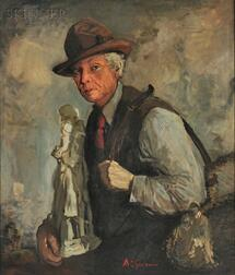 Arthur Clifton Goodwin (American, 1866-1929)      Statue Vendor