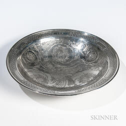 Tiffany & Co. Sterling Silver Charger