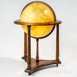 "Lighted 16-inch ""Heirloom Globe,"""