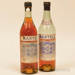 Martell 3 Star Very Old Pale Cognac, 2 4/5 quart bottles