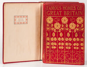 Malan, Alfred Henry (1852-1928) Famous Homes of Great Britain and their Stories[and] More Famous Homes of Great Britain, ex libris Edit