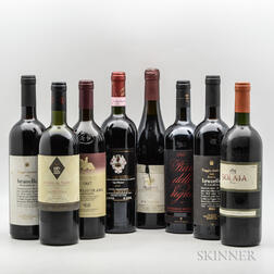 Mixed Italian Reds, 8 bottles