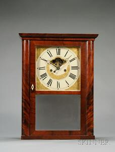 Mahogany Empire Shelf Clock by Eli Terry, Jr. & Company