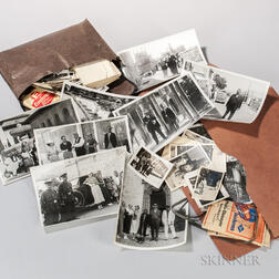 Hearst, William Randolph (1863-1951) Large Collection of Family Photographs from Trips to Europe and Mexico, 1930s.