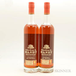 Buffalo Trace Antique Collection Thomas H Handy Sazerac Rye, 2 750ml bottles