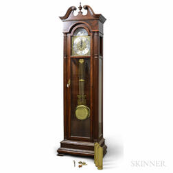 Trend Westminster Chime Mahogany Tall Clock