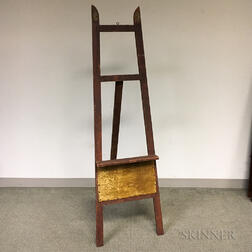 Country Pine Standing Easel