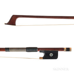 Gold-mounted Violoncello Bow