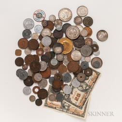 Group of Mostly World Coins