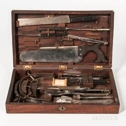 William Autenrieth Cased Surgical Set