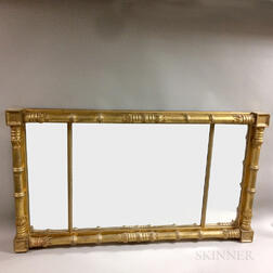 Classical Carved Gilt-gesso Overmantel Mirror
