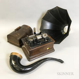 "Thomas Edison Model ""D"" Home Phonograph"