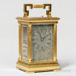 James McCabe Fusee Carriage Clock