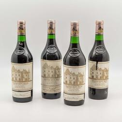 Chateau Haut Brion 1975, 4 bottles