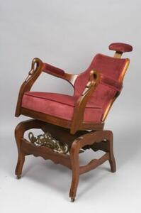 "Mahogany ""Garden City"" Dentist's Chair"