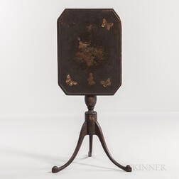 Paint-decorated Candlestand