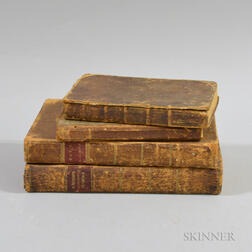 Four 19th Century Books