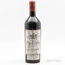 Chateau Montrose 1925, 1 bottle
