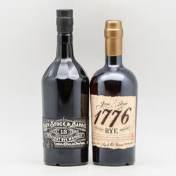 Mixed Rye, 2 750ml bottles