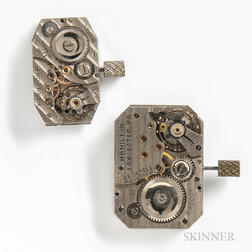 "Hamilton ""401"" and ""999"" Wristwatch Movements"
