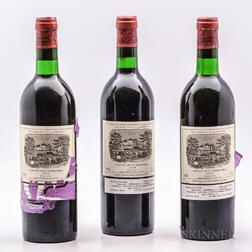 Chateau Lafite Rothschild 1979, 3 bottles