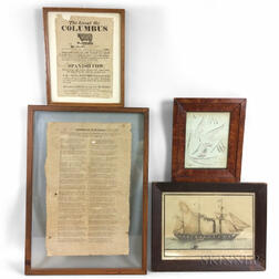 Four Framed Items