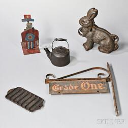 Group of Iron Objects