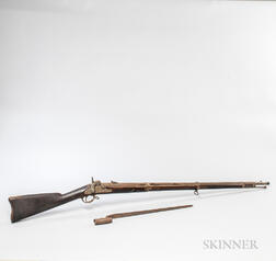 U.S. Model 1861 Rifle-musket and Bayonet