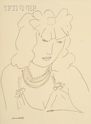 After Henri Matisse (French, 1869-1954)      Lot of Two Images of Women: I1
