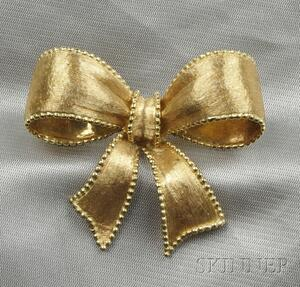 18kt Gold Brooch, Tiffany & Co.
