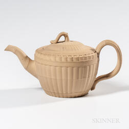 Wedgwood Caneware Teapot and Cover
