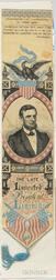 Woven Silk Abraham Lincoln Memorial Ribbon