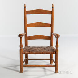 "Shaker Production ""No. 0"" Child's Armchair"