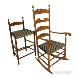 Two Modern Shaker Chairs