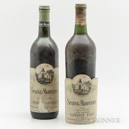 Spring Mountain, 2 bottles