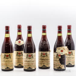 Leme Freres (Selected & Shipped by) Richebourg 1973, 6 bottles