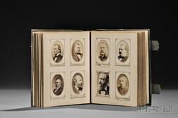 Carte-de-visite Album Compiled by John Badger Bachelder (1825-1894)