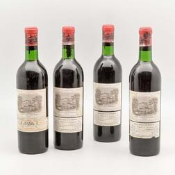 Chateau Lafite Rothschild 1966, 4 bottles